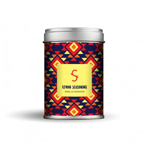 Spiced by Sara La Fountain - Lemon Seasoning 140 g