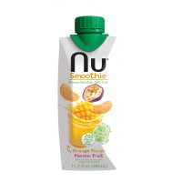 Appelsiini-Mango-Passion, NU Smoothie, 0,33 l