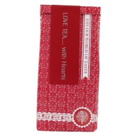 Love tea with red hearts -tee, 100 g